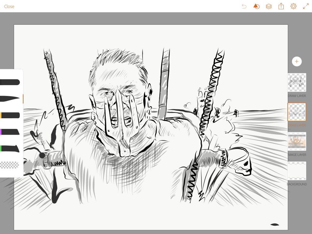 Adobe Draw Screenshot